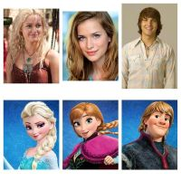 Once A Upon Time Frozen Cast by SkiAngel