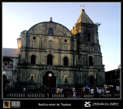 2 - basilica minor de tayabas by zorrospider