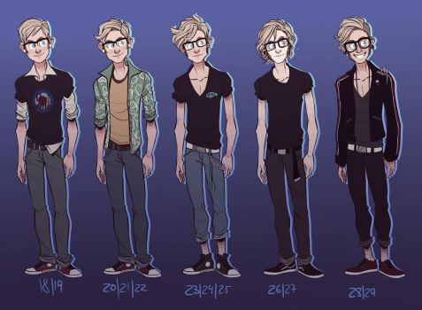 stages of a hoffman by starsandpolkadots