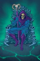 Skeletor by MarkHRoberts
