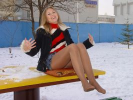 Beautiful Hottie in the Cold 8 by drknyght6
