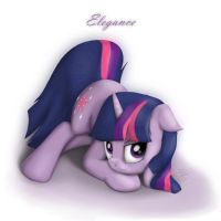 Twilight Sparkle is the Elegance by Eternyan