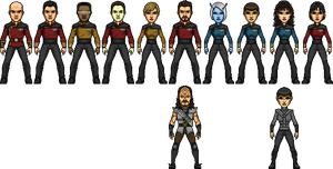 Star Trek Generations Commadore-Shuey Reboot by SpiderTrekfan616