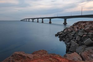 Confederation Twilight Bridge by somadjinn