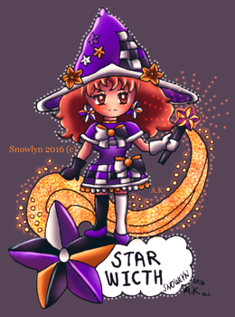 Star witch CG version by Snowlyn