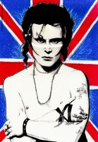 ADAM ANT - Portrait and Speed Drawing by Dianah3