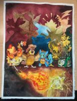 My Pokemon X team by F1r3lectrical