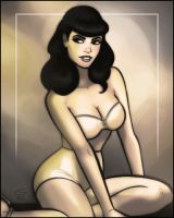 Bettie Page by grantgoboom