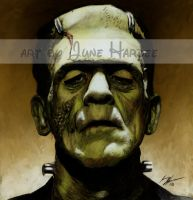 Frankenstein's Monster Colored by JunebugHardee