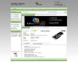 Template Webshop 1 by w3nky