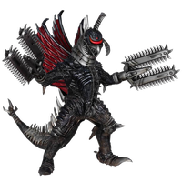 Godzilla The Video Game: Gigan by sonichedgehog2