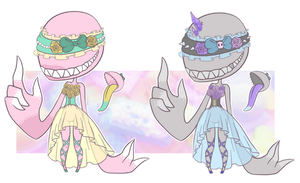 CLOSED] Pastel Goth Dentiis by CloverWing
