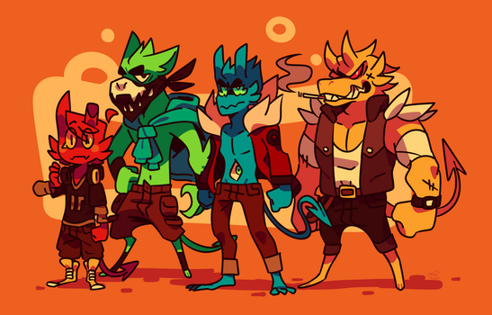 Demon Crew by Ionic-Isaac