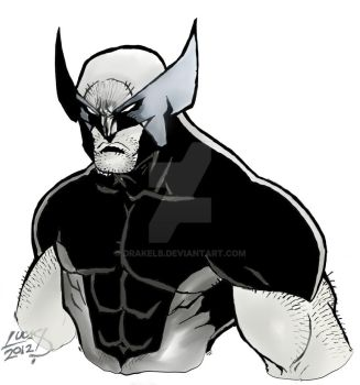 Wolverine Gray Tones by Drakelb