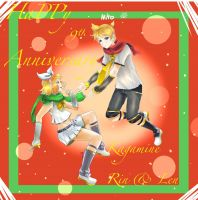 9th Anniversary Rin Y Len by MiToLO04