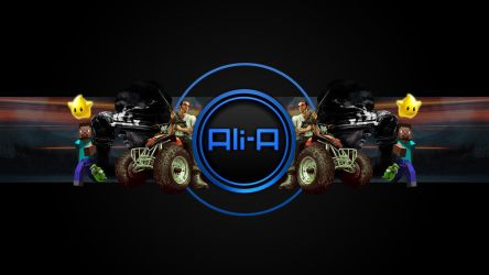 Ali-A New Gaming Channel Background Submission by skinstyles