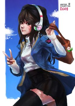 D.VA - Winter Collection by MonoriRogue