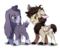 Little colts by hikariviny