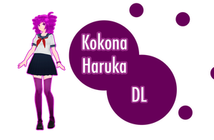 [download] TDA Kokona Haruka by FiciAxe