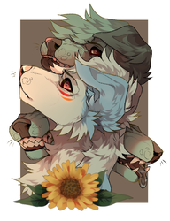 sunflowers by MonsterFennec