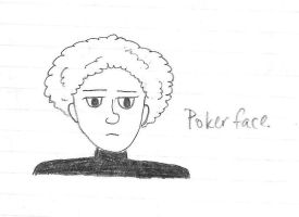 Poker Face Art Garfunkel by girlwitharubbersoul