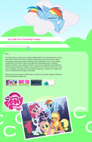 MLP FiM journal Css by StarlightLore