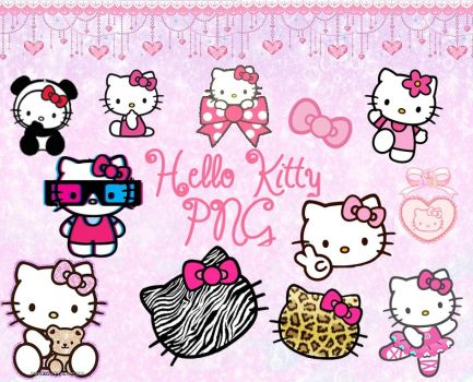Hello Kitty PNG by xCupiiCakex