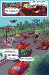 Death Valet Chapter One Page Three by A-Fox-Of-Fiction