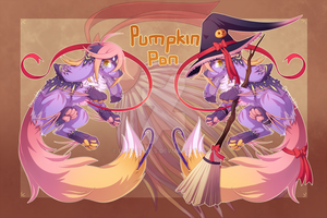 [CLOSED] Heart Lure Auction: Pumpkin Pon by dracooties