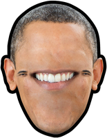 Shrew-Faced Obamma by SurnThing
