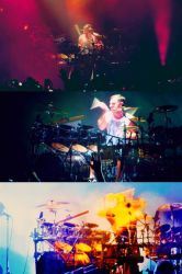 Shannon Leto on drums by g-ivy-ar