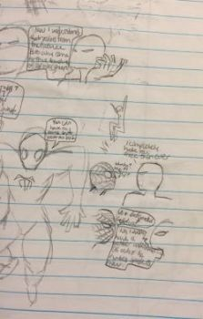 Spider Dude sketches 3 by TheVelma16