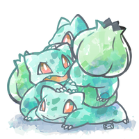 Bulba Pile by crayon-chewer
