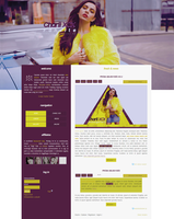 Free G-Portal fansite them with Charli XCX by Efruse