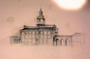 Independence hall by KevinJerr