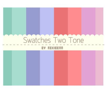 Swatches Two Tone by TheSeekerReki