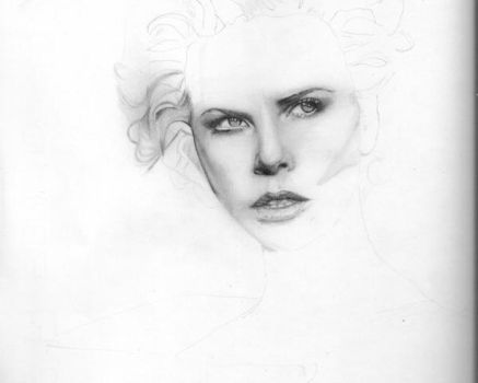 Charlize Theron WIP 01 by OmarCorona