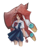 Asuka Commission by MarieFriedrich