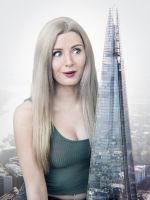 Lauren and the Shard by docop