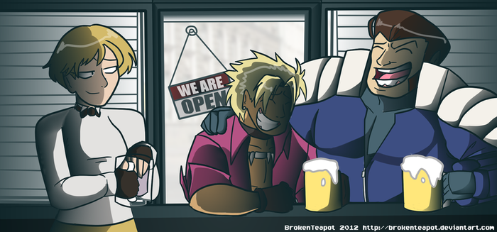 RockyJoe's KOFXIII team by BrokenTeapot