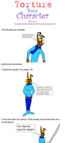 Torture Your Character Meme by DCLeadboot