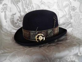 Steampunk bowler PCSH25 by JanuaryGuest