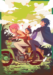 Sasusaku Family 09 by Fey-Rayen