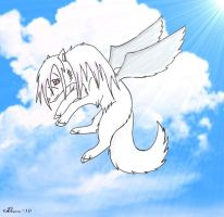 Flying Wolf by Spairnew