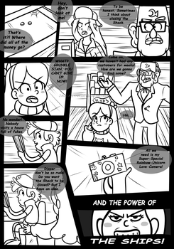 Gravity Falls Comic : Golden Surprise 1 by Jacky-Bunny