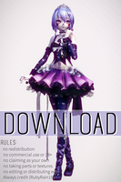 [MMD x FNAF SL] TDA Ballora Model download by RubyRain19