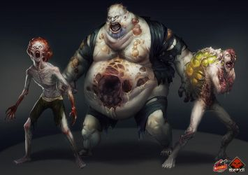 Virus: Zombies by Larbesta