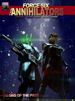 Force Six The Annihilators 02 Sins of the Pass Cov by G-Mantis