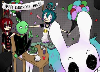 Happy Birthday Mr.8 by evekomix