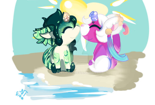 Love is in the Air Prompt 1/2 by TragicKiwi